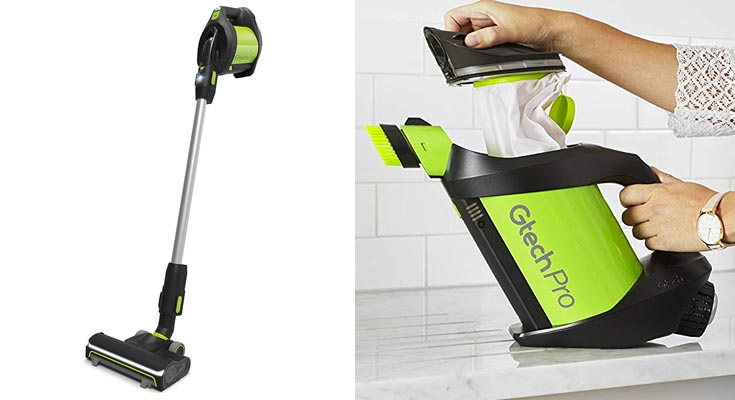 Gtech Pro Aspirador Vertical en Bolsas sin Cable