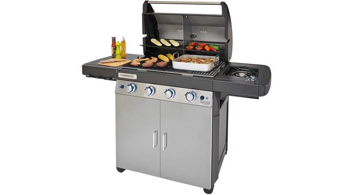 Campingaz 2000033727 4 Series Dual Heat LS Plus - Barbacoa Gas
