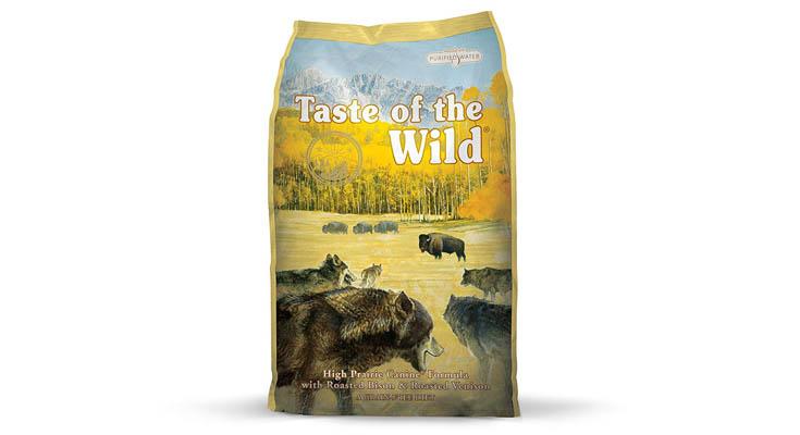 Taste of the WildHigh Praire con bisonte, cordero y ciervo Pienso de Perros