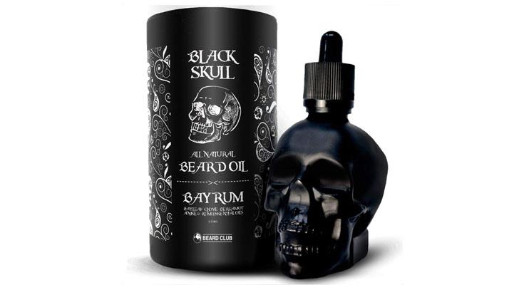 Aceite para Barba Black Skull