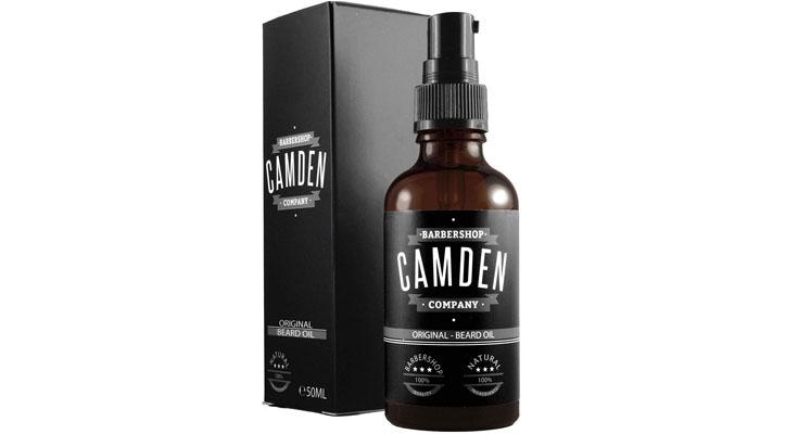 Aceite para barba ORIGINAL de Camden Barbershop Company