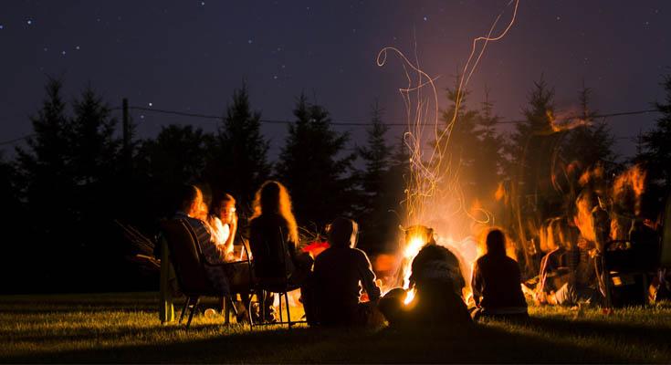 Cuenta Historias Camping