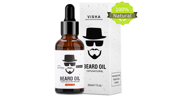 Fixget Aceite para barba, 100% Natural Aceite De Barba