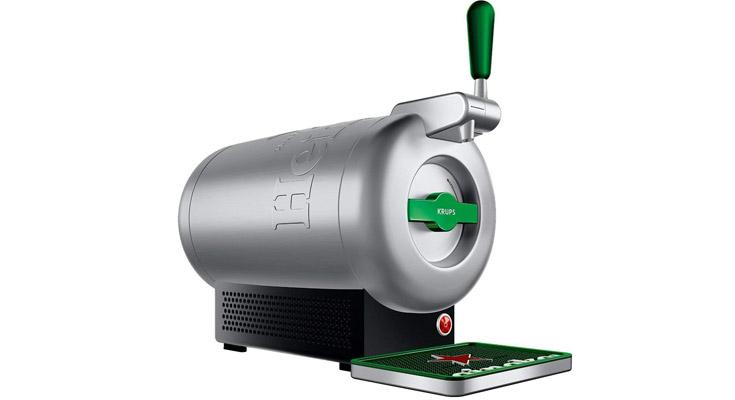 Krups The Sub Heineken VB650E10 Tirador de cerveza