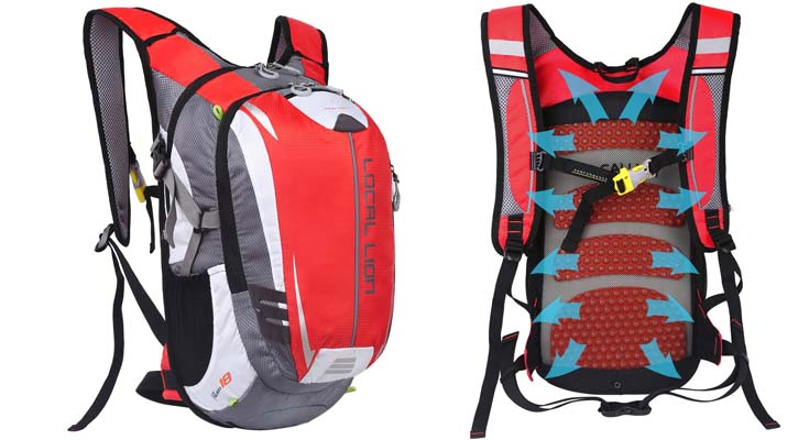 OUTDOOR LOCAL LION 18L Mochila Deportes al Aire Libre de Senderismo Excursion
