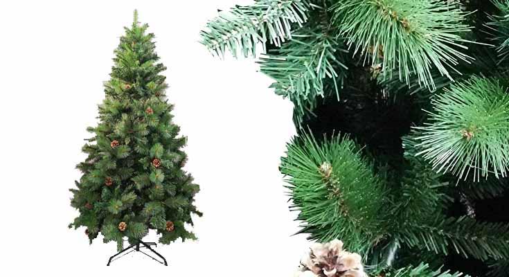 Árbol de Navidad Artificial de Pino Maxi-Relleno Arboles Abeto