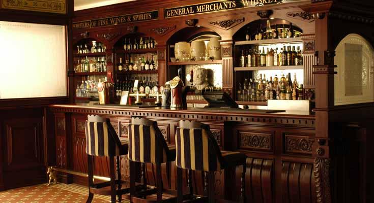 Diseño de Bares Estilo Irish Bar