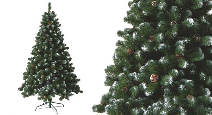 HENGMEI 210cm Artificial Árbol de Navidad Decoración Navideña
