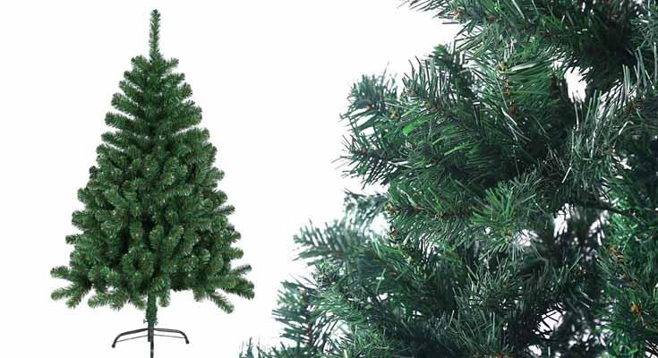 HENGMEI 240cm Artificial Árbol de Navidad Decoración Navideña