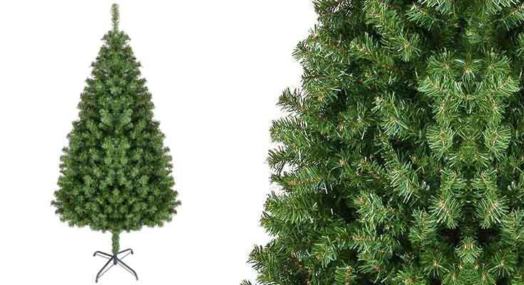 Homfa Árbol de Navidad Artificial de Pino