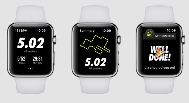 Nike Run Smartwatch App Para Apple