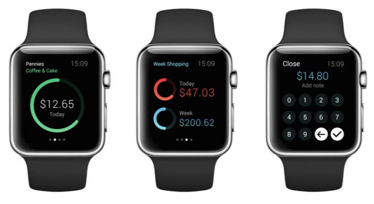 Pennies Smartwatch App Para Apple