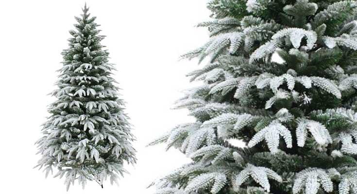 Shatchi Árbol de Navidad, Color Blanco