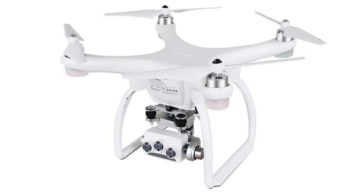 UPAIR Two dron cuadricóptero con cámara 3D 4K