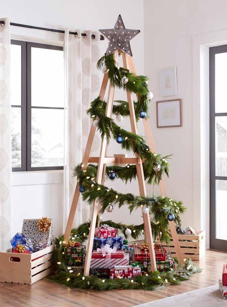 Como Decorar Mi Casa En Esta Navidad 2019.Ideas Alternativas A Los Arboles De Navidad Ideas