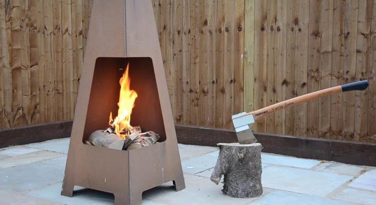 Ideas de Bricolaje para Pozos de Fuego Chimenea