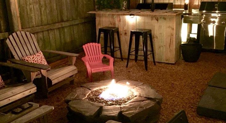 Pozos de Fuegos con Bar