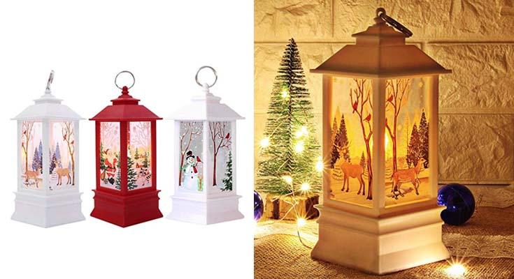 Adornos Navidad Originales Rusticos con Luz LED