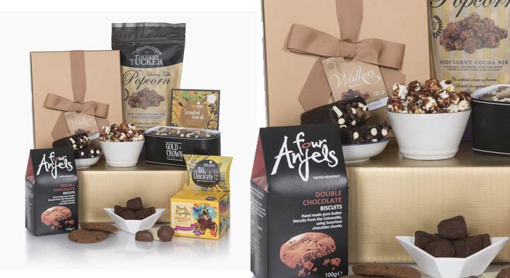 Cesta de Placer de Chocolate - Cestas de chocolate de lujo