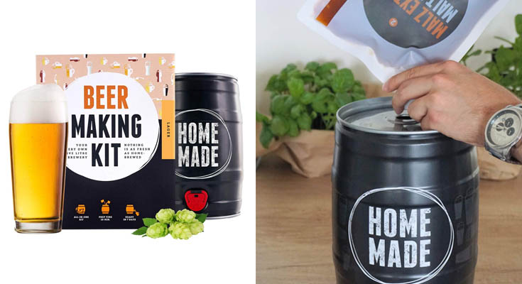 Kit para elaborar Cerveza Artesana Lager en Casa