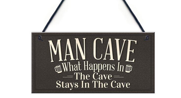 Letrero Cueva de Hombre