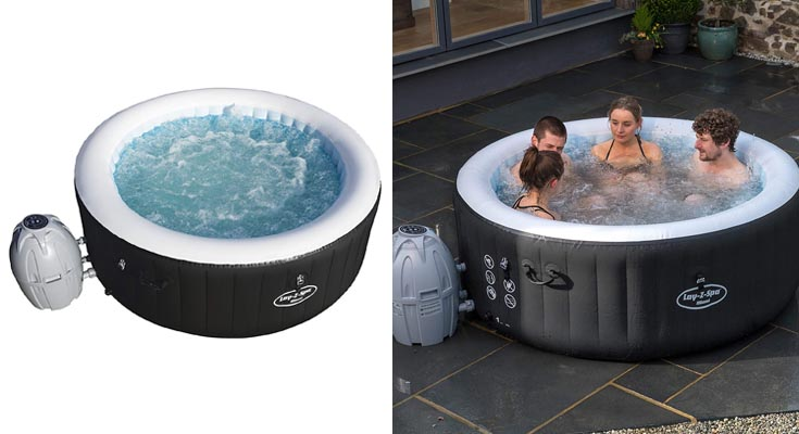 Bestway 54123 - Spa Hinchable Lay- Z-Spa Miami Para 2-4 personas