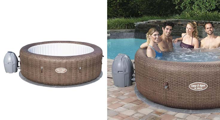 Bestway 54175 - Spa Hinchable Lay- Z-Spa St. Moritz