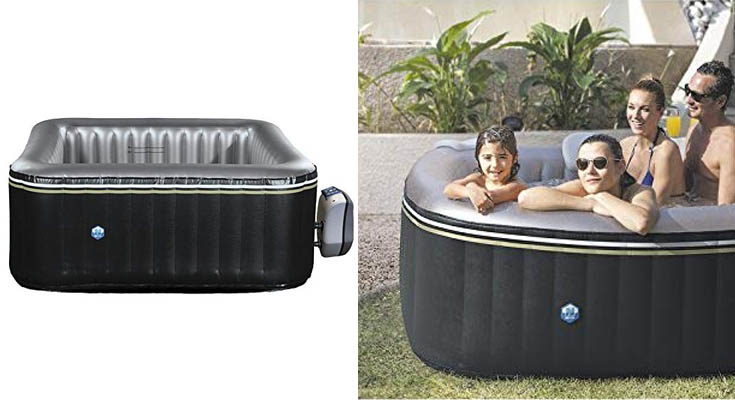 NETSPA Hinchable Aspen 4 Plazas Poolstar SP-ASP130D