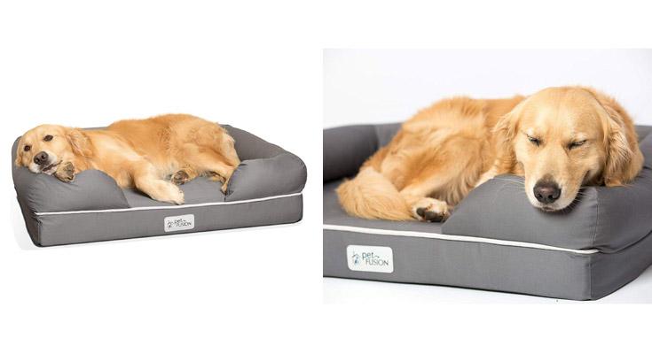 Cama de espuma viscoelástica para perros medianos y grandes