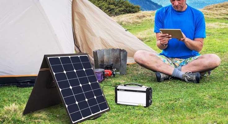 Kit Solares Para Camping