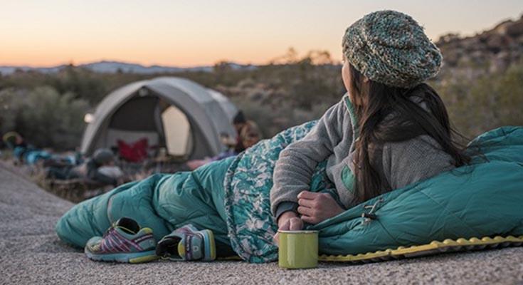 Saco de Dormir en camping