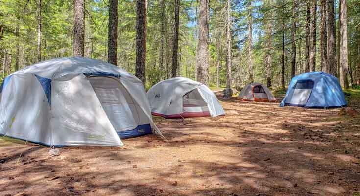 Tienda de Campana para camping