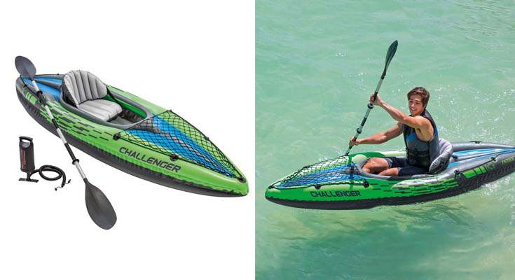 Intex 68305NP - Kayak hinchable Challenger