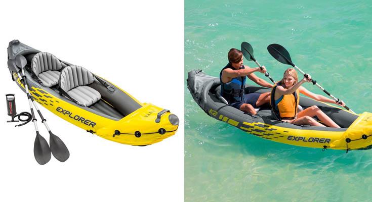 Intex 68307NP Kayak hinchable Explorer K2