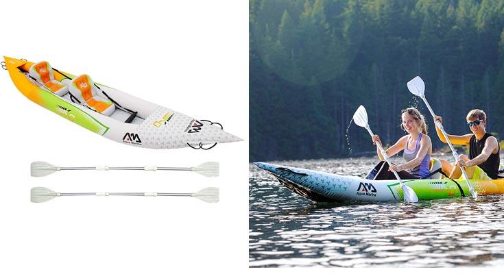 Set de Kayac inflable por 2 BETTA HM-K0