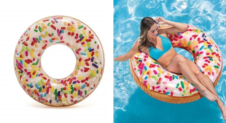 Intex 56263NP - Rueda hinchable Donut de colores