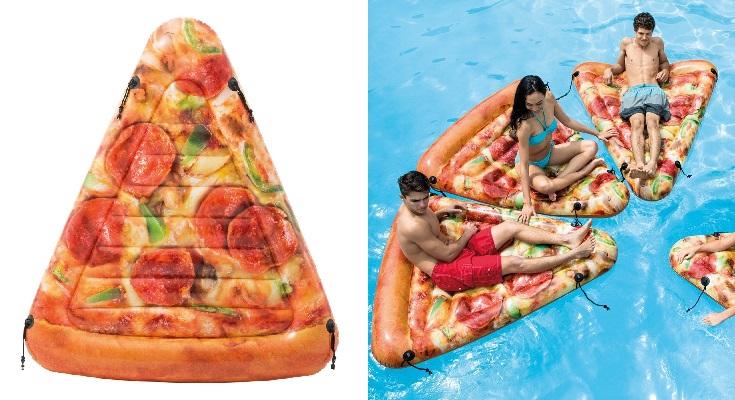 Intex 58752EU - Colchoneta hinchable Pizza
