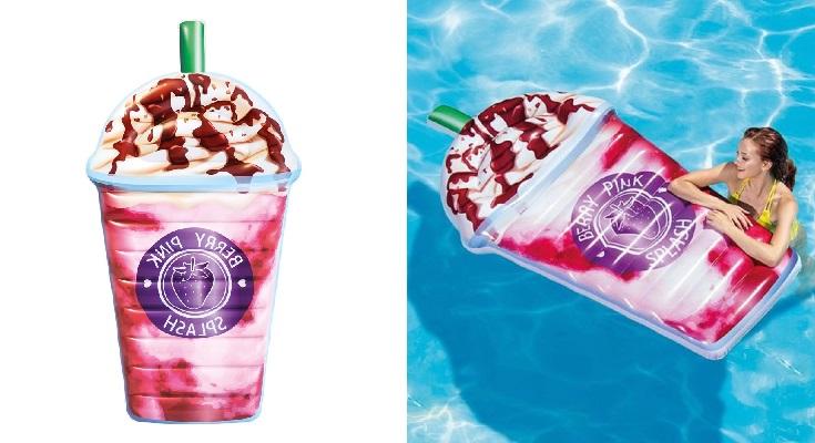 Intex 58777EU - Colchoneta hinchable Berry Pink