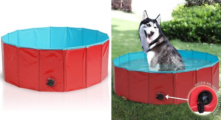 Premium Piscina para Mascotas Plegable